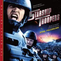 Обложка к диску с музыкой из фильма «Звездный десант»