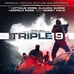 Обложка к диску с музыкой из фильма «Три девятки»