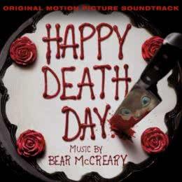 Обложка к диску с музыкой из фильма «Счастливого дня смерти»