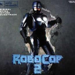 Обложка к диску с музыкой из фильма «Робокоп 2»