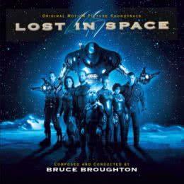 Обложка к диску с музыкой из фильма «Затерянные в космосе»