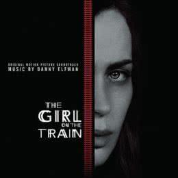Обложка к диску с музыкой из фильма «Девушка в поезде»