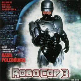 Обложка к диску с музыкой из фильма «Робокоп 3»