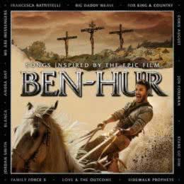 Обложка к диску с музыкой из фильма «Бен-Гур»