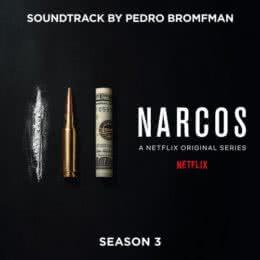 Обложка к диску с музыкой из сериала «Нарко (3 сезон)»