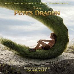 Обложка к диску с музыкой из фильма «Пит и его дракон»