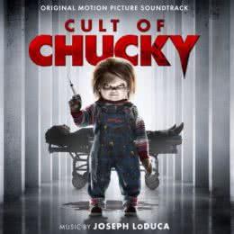 Обложка к диску с музыкой из фильма «Культ Чаки»