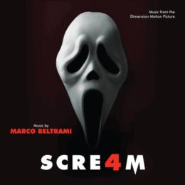 Обложка к диску с музыкой из фильма «Крик 4»