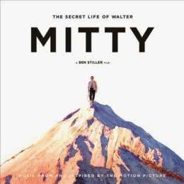 Обложка к диску с музыкой из фильма «Невероятная жизнь Уолтера Митти»