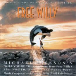 Обложка к диску с музыкой из фильма «Освободите Вилли»