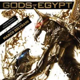 Обложка к диску с музыкой из фильма «Боги Египта»