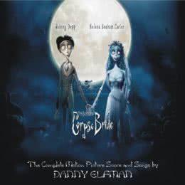 Обложка к диску с музыкой из мультфильма «Труп невесты»