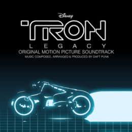Обложка к диску с музыкой из фильма «Трон: Наследие»