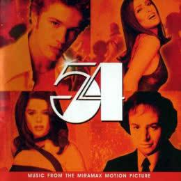 Обложка к диску с музыкой из фильма «Студия 54»