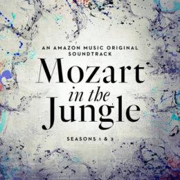 Обложка к диску с музыкой из сериала «Моцарт в джунглях (1 и 2 сезон)»