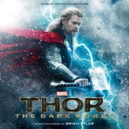 Обложка к диску с музыкой из фильма «Тор 2: Царство тьмы»