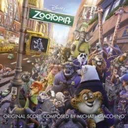 Обложка к диску с музыкой из мультфильма «Зверополис»