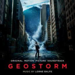 Обложка к диску с музыкой из фильма «Геошторм»