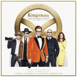 Обложка к диску с музыкой из фильма «Kingsman: Золотое кольцо»