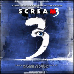 Обложка к диску с музыкой из фильма «Крик 3»