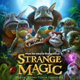 Обложка к диску с музыкой из мультфильма «Странная магия»