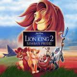 Маленькая обложка диска с музыкой из мультфильма «Король Лев 2: Гордость Симбы»