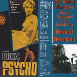 Обложка к диску с музыкой из фильма «Психо»
