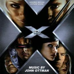 Обложка к диску с музыкой из фильма «Люди Икс 2»