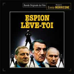Обложка к диску с музыкой из фильма «Шпион, встань»