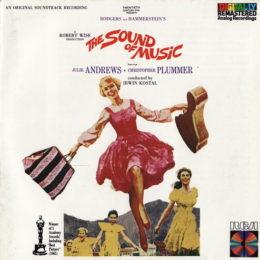 Обложка к диску с музыкой из фильма «Звуки музыки»