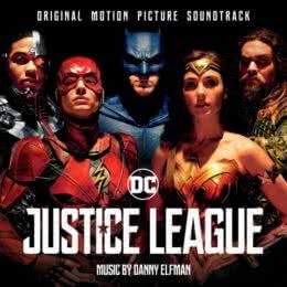 Обложка к диску с музыкой из фильма «Лига справедливости»