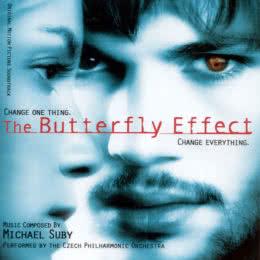 Обложка к диску с музыкой из фильма «Эффект бабочки»