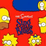 Маленькая обложка диска c музыкой из мультфильма «The Simpsons: Sing the Blues»