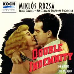 Обложка к диску с музыкой из фильма «Двойная страховка»