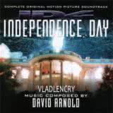 Маленькая обложка диска с музыкой из фильма «День независимости»