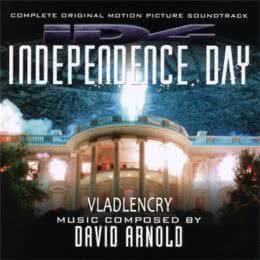 Обложка к диску с музыкой из фильма «День независимости»