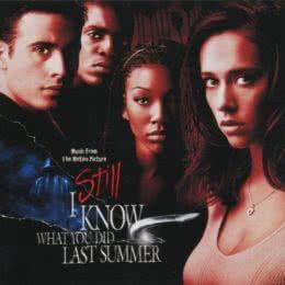 Обложка к диску с музыкой из фильма «Я всё еще знаю, что вы сделали прошлым летом»