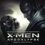 Маленькая обложка диска с музыкой из фильма «Люди Икс: Апокалипсис»