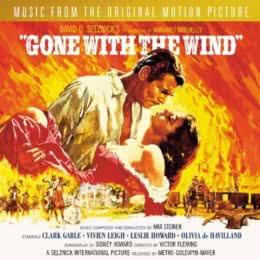 Обложка к диску с музыкой из фильма «Унесенные ветром»