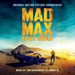 Обложка к диску с музыкой из фильма «Безумный Макс: Дорога ярости»