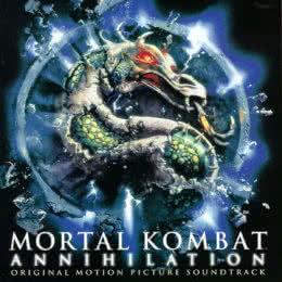 Обложка к диску с музыкой из фильма «Смертельная битва 2: Истребление»