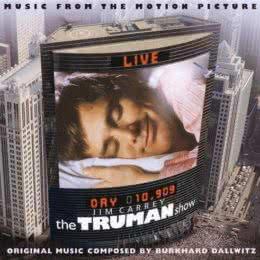 Обложка к диску с музыкой из фильма «Шоу Трумана»