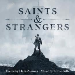 Обложка к диску с музыкой из сериала «Святые и чужие (1 сезон)»
