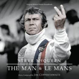 Обложка к диску с музыкой из фильма «Стив МакКуин. Человек и гонщик»