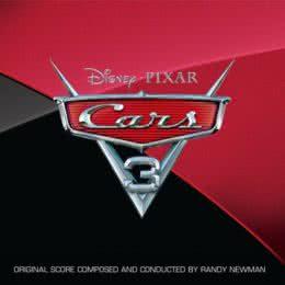 Обложка к диску с музыкой из мультфильма «Тачки 3»