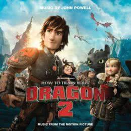 Обложка к диску с музыкой из мультфильма «Как приручить дракона 2»