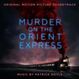 Обложка к диску с музыкой из фильма «Убийство в Восточном экспрессе»