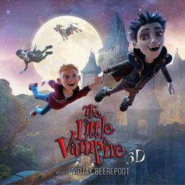 Обложка к диску с музыкой из мультфильма «Маленький вампир»