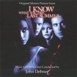 Обложка к диску с музыкой из фильма «Я знаю, что вы сделали прошлым летом»