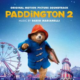 Обложка к диску с музыкой из мультфильма «Приключения Паддингтона 2»